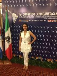 Andrea Preciado #CongresoParaguay